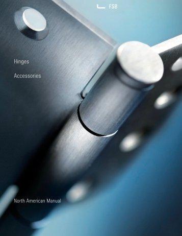 Hinges Accessories PDF, 1.1 mb - FSB