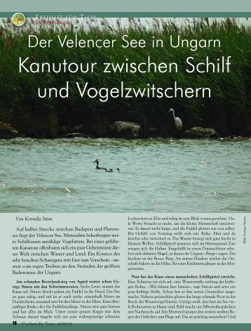 Lebensräume - Magazin Freiheit für Tiere