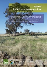 Wollert Draft Precinct Structure Plan - Growth Areas Authority