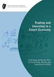 Trading and Investing in a Smart Economy - A Strategy and ... - Forfás