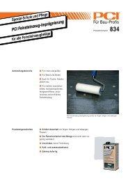 PCI Feinsteinzeug-Imprägnierung - Fliesen Lerche