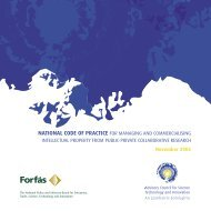 National Code of Practice for Managing Intellectual Property ... - Forfás