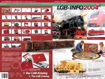 2004 • LGB Neuheiten - Champex-Linden