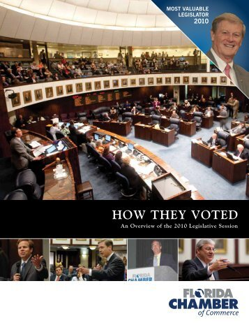 2010 How They Voted - Florida Chamber of Commerce