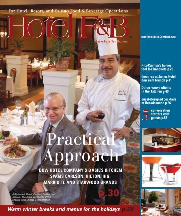 For Hotel, Resort, and Casino Food & Beverage Operations