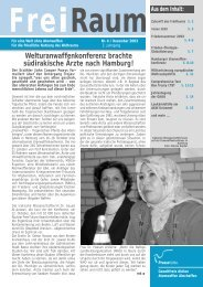 Freiraum 2003 - 3 (PDF) - Gewaltfreie Aktion Atomwaffen Abschaffen