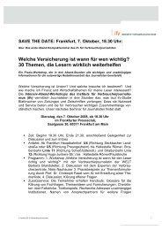 Kurzfassung Frankfurt - Frankfurter Presseclub