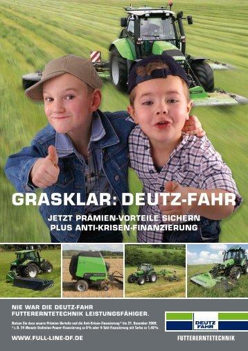 futtererntetechnik - Deutz-Fahr