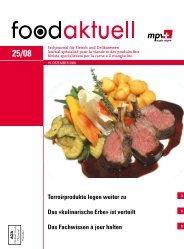 Terroirprodukte legen weiter zu Das «kulinarische ... - Foodaktuell.ch