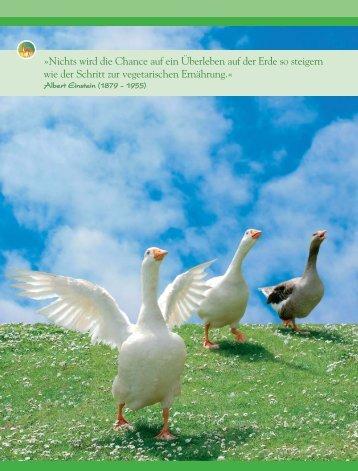 Tierfreundlich leben - Magazin Freiheit für Tiere