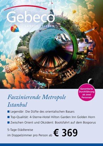 Faszinierende Metropole Istanbul - TUI ReiseCenter