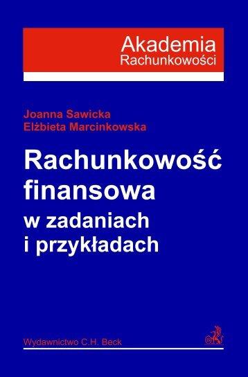 Rachunkowoœć finansowa w zadaniach i przyk³adach - Gandalf