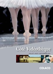 COTÉ VIDEOTHEQUE SEPT 2010.indd - Colaco
