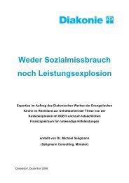 Diakonische Werk Rheinland - Flegel-g.de