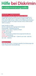 bei Diskriminierung und Gewalt - frankfurt-handicap.de - Seite 6