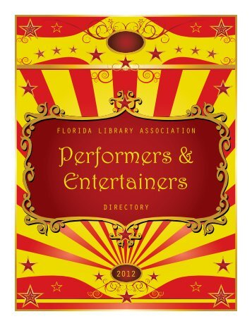 2012 Performers and Entertainers Directory - A80