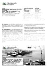 Programm und Flyer - Europa im Fluss - Die EU-Erweiterung ...