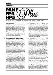 PAN F FP4 HP5 - Fotoimpex