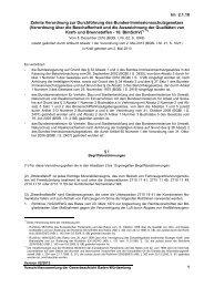 Zehnte Verordnung zur Durchführung des Bundes ...