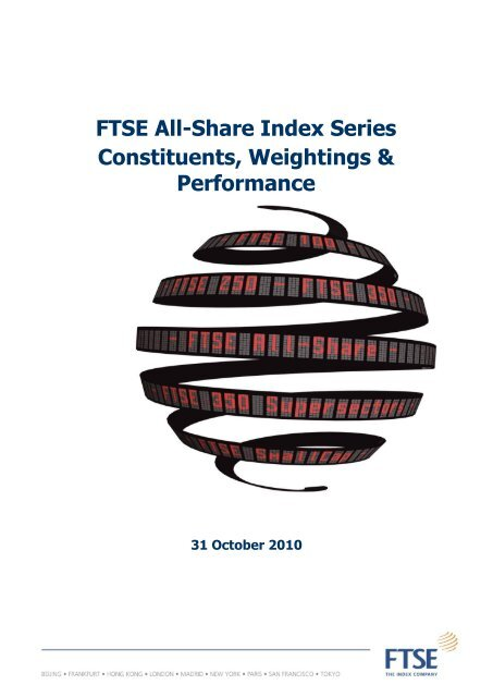 All-Share Index Series Weightings - FTSE