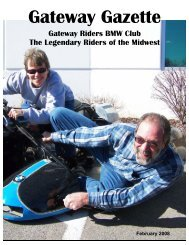 February - Gateway Riders Index
