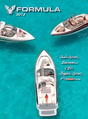 Bowrider/Sun Sport/Super Sport/FX Brochure - 2013 - Formula Boats
