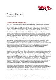 Ausstellung zur Architektur der 60er und 70er Jahre (pdf) - GAG ...