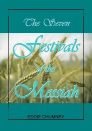The Seven Festivals of the Messiah - Friends of the Sabbath Australia