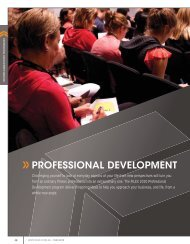 PROFESSIONAL DEVELOPMENT - Australian Fitness Network