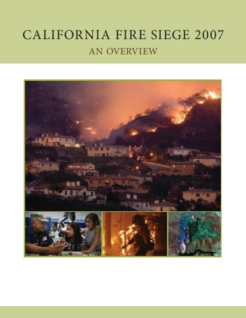 California Fire Siege 2007: An Overview - Cal Fire - State of California