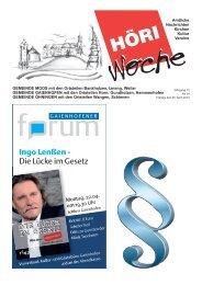 Jahrgang 12 Nr. 14 Freitag, den 05. April 2013 - Gaienhofen