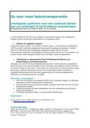 Klik voor de uitnodiging met volledig programma - Flanders Smart Hub