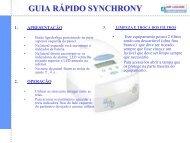 RESPIRONICS_BIPAP Synchrony_Guia Rapido.pdf - FisioCare