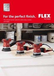 Single hand sanders - FLEX