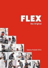 Gamma Prodotti 2013 - FLEX