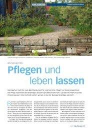 Pflegen und leben lassen (pdf 947.0 KB) - Winkler & Richard AG