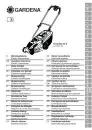 OM, Gardena, PowerMax 34 E, Art. 4031-20, 2011-10