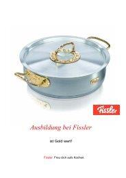 Ausbildung bei Fissler - Fissler GmbH