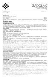 GADOLAX prosp. 8/05 - Gador SA