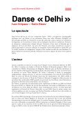 DANSE « DELHI » - Forum-Meyrin - Page 2