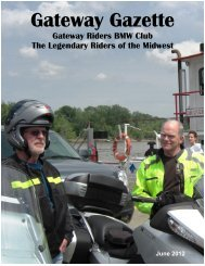 June - Gateway Riders Index