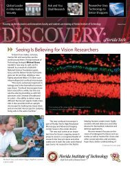 June 2008: Volume 8 Issue 1 - Florida Institute of Technology
