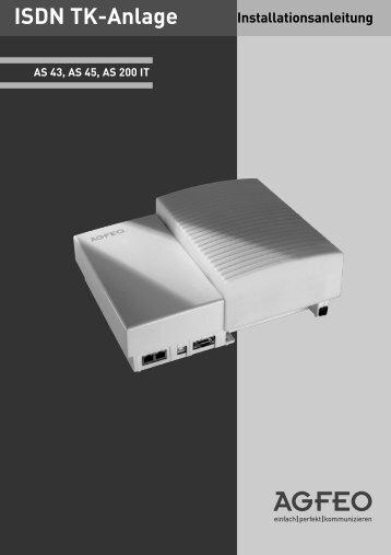 ISDN Tk-Anlage - AGFEO