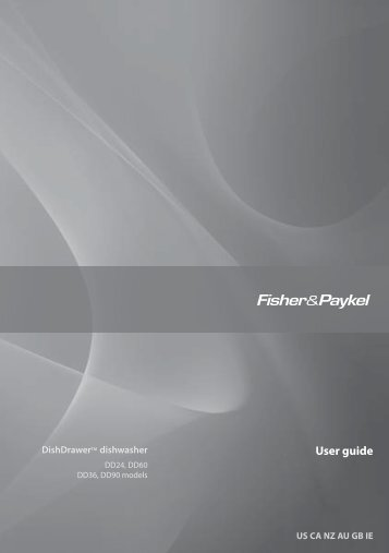 User guide - Fisher & Paykel