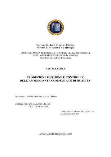 TESI COMPOST - Formazione e Sicurezza