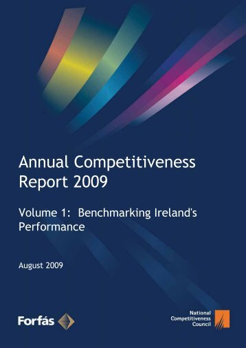 Annual Competitiveness Report 2009 - Forfás