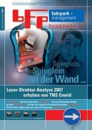 Leser-Struktur-Analyse 2007 erhoben von tNS Emnid - fuhrpark.de ...
