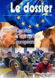 CR Assises des CE Euro 2009 - Féderation - La cgt