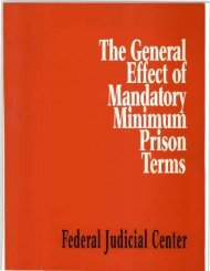 The General Effect of Mandatory Minimum Prison Terms: A ...