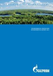 Environmental Report - Gazprom